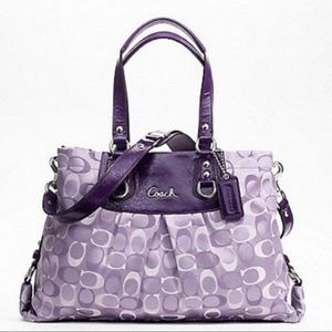 Gorgeous Coach Ashely carryall